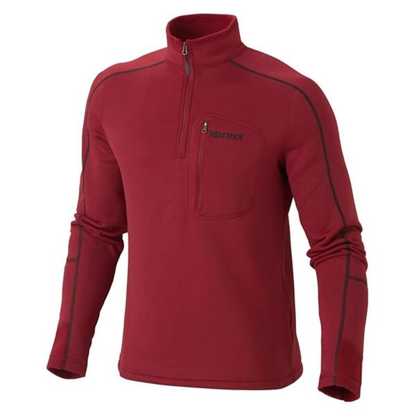 Marmot Men's Power Stretch Half Zip Fleece Pull-over