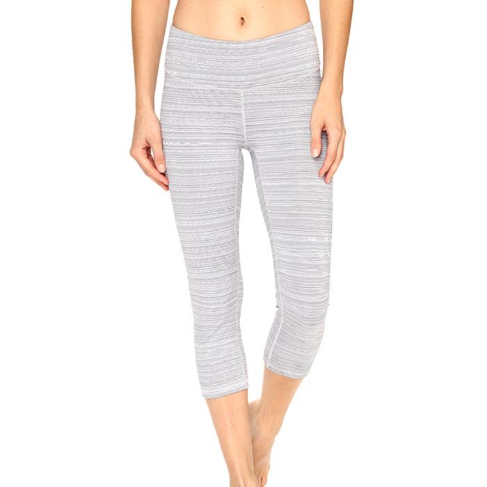 719169972c43a Lucy Women's Studio Hatha Capri Legging Silver Filigree Half Tone - Sun &  Ski Sports