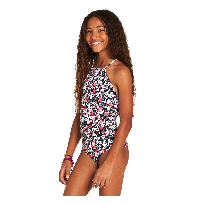 9485f0521e395 Billabong Girl s Ditsy Soul One Piece Swimsuit - Sun   Ski Sports