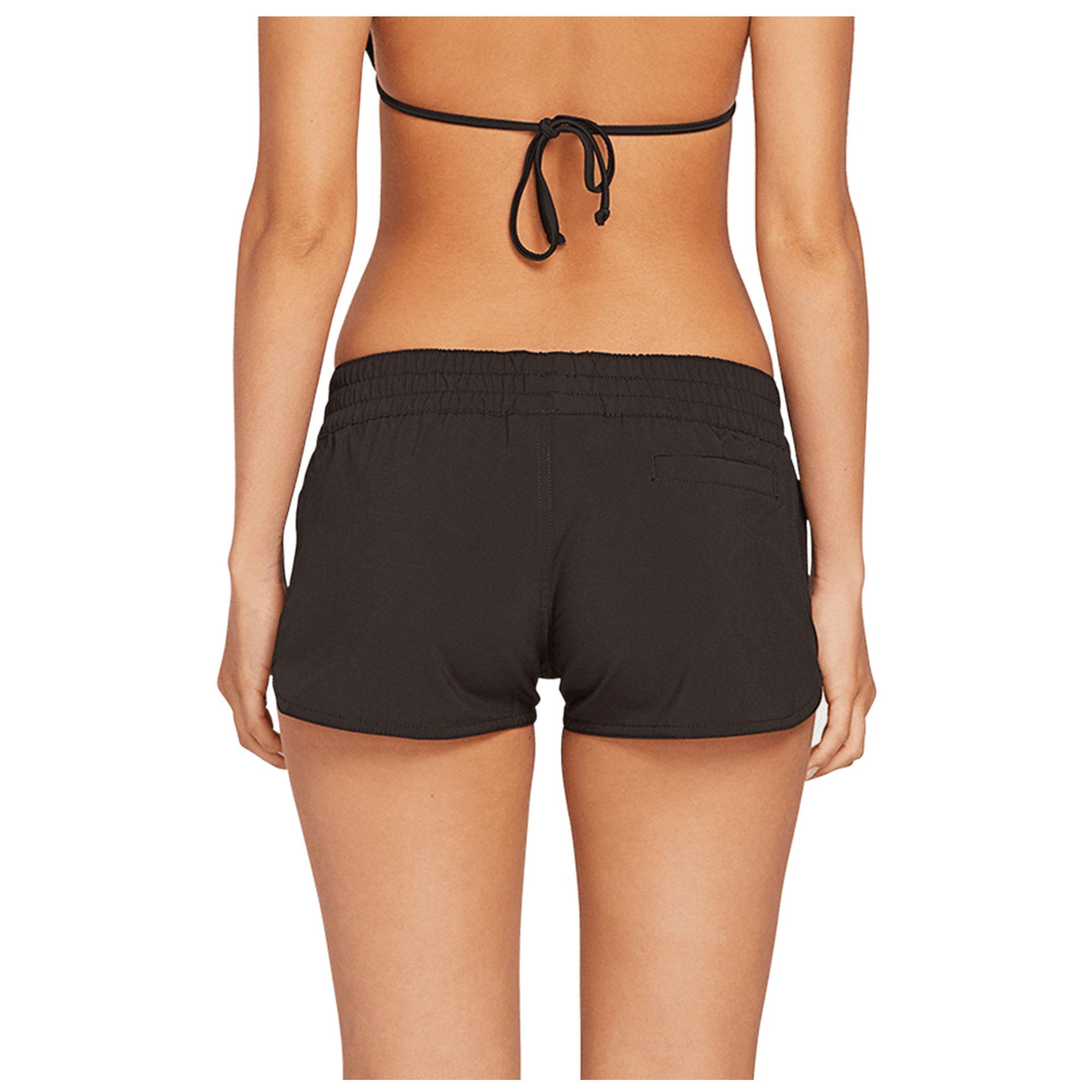 Volcom Womens Juniors Simply Solid Legging Board Shorts