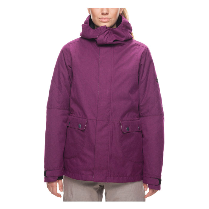 686 Womens Smarty 3 In 1 Aries Snowboard Jacket