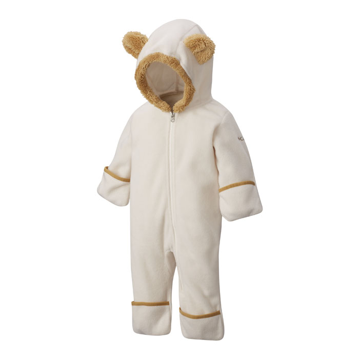 e12d8c2a6 Columbia Boy s Tiny Bear II Bunting Infant Fleece Chalk - Sun   Ski ...