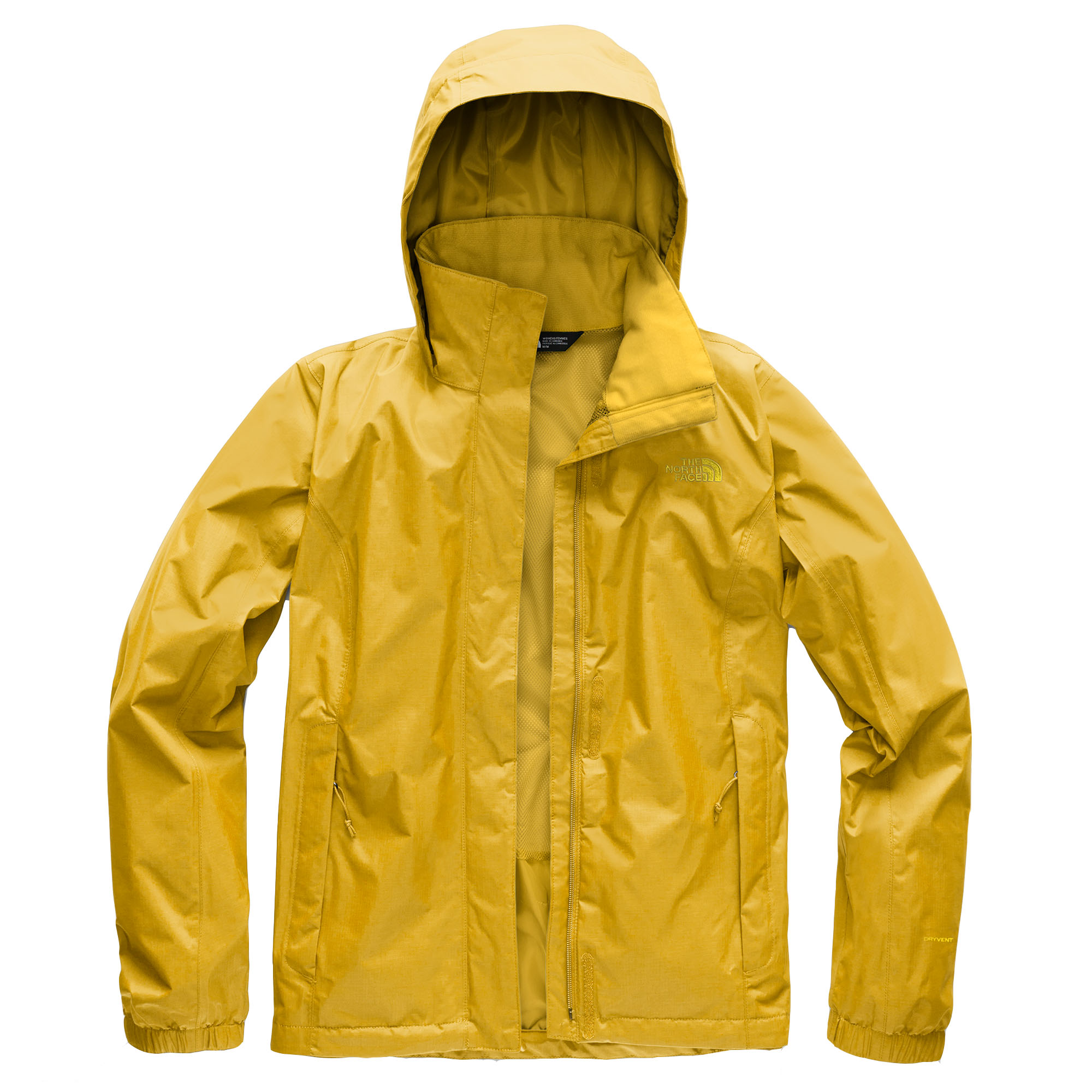 939166e71 The North Face Women's Resolve 2 Jacket, Yellow