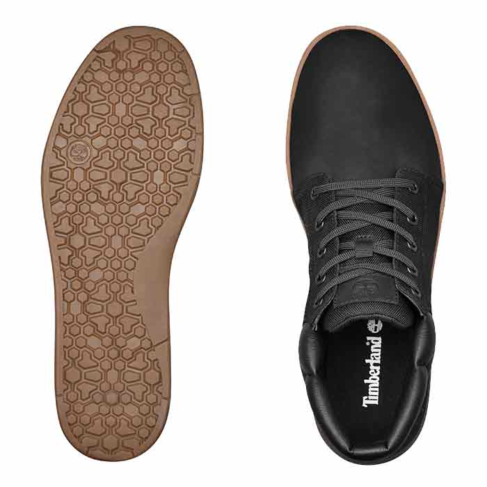 e5508bac1ac Timberland Men's Davis Square Mixed-Media Chukka Boots