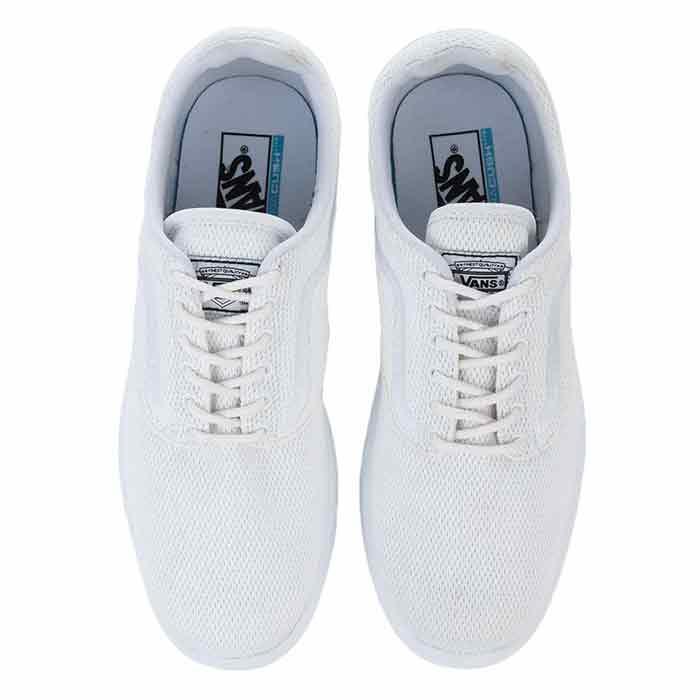 c26fadbd6fe Vans Men s Mesh ISO 1.5 White Shoes - Sun   Ski Sports
