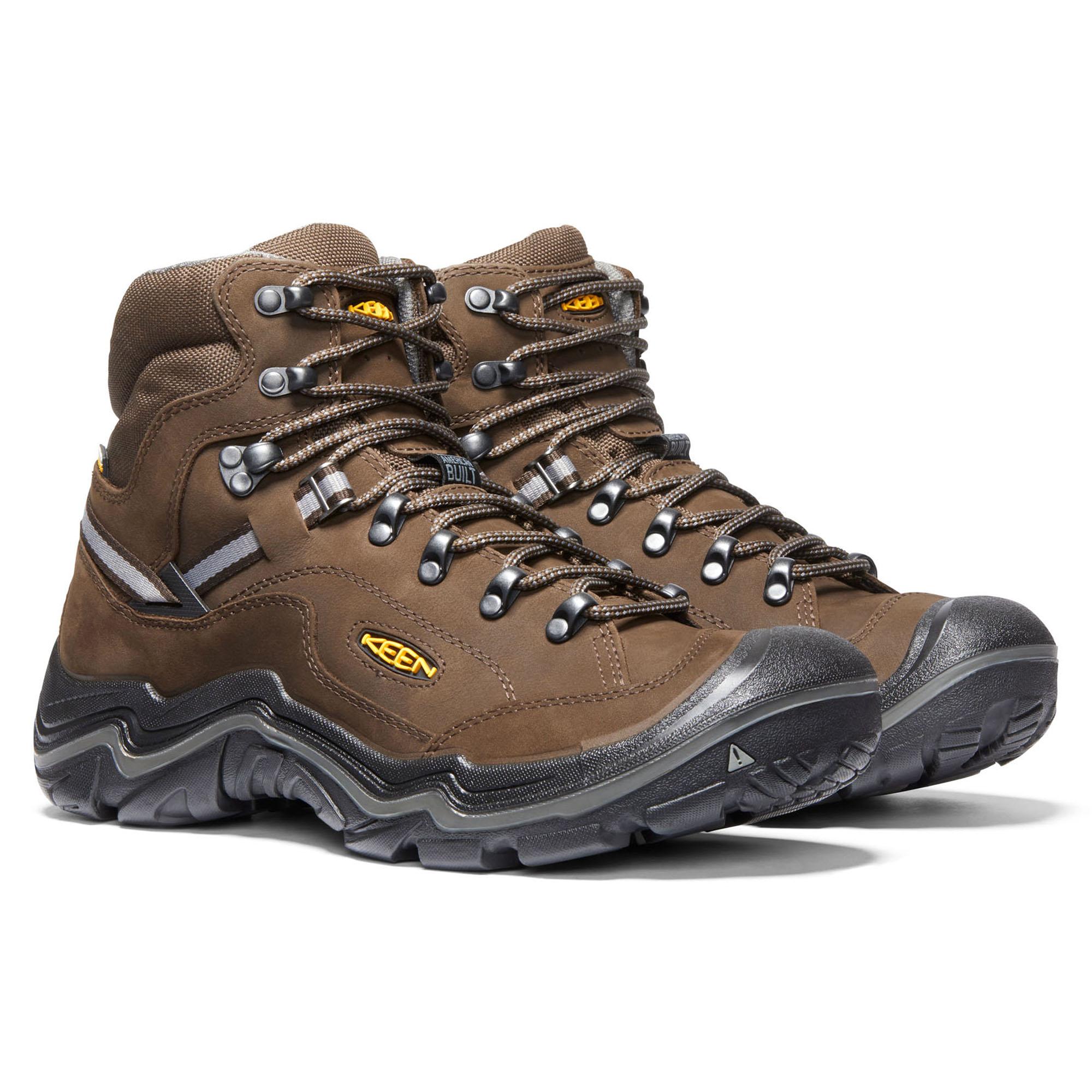 bcde3d72cc6 Keen Men's Durand II Mid Waterproof Hiking Boots