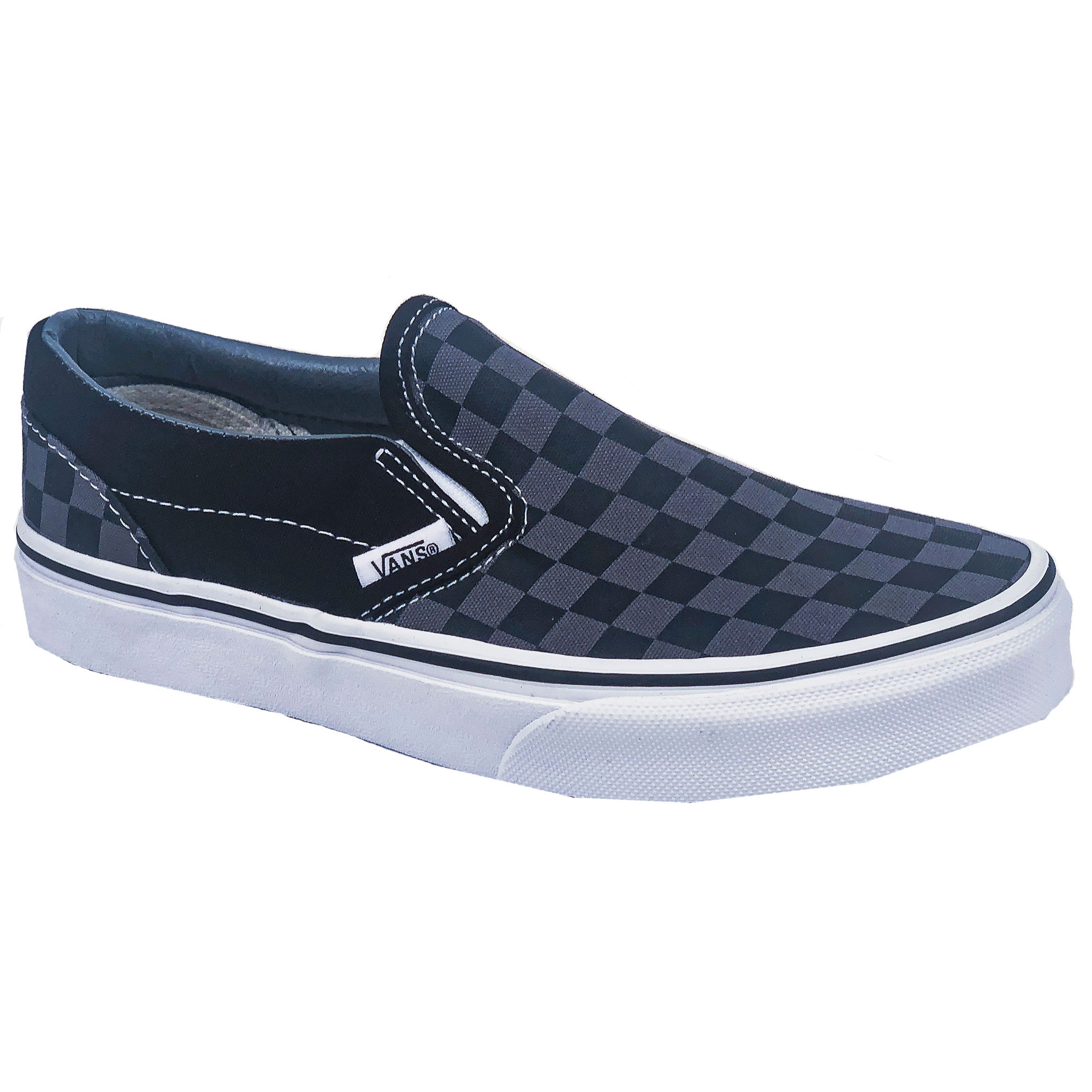 3454f03863 Vans Kids Classic Slip On Black Pewter Casual Shoes - Sun   Ski Sports