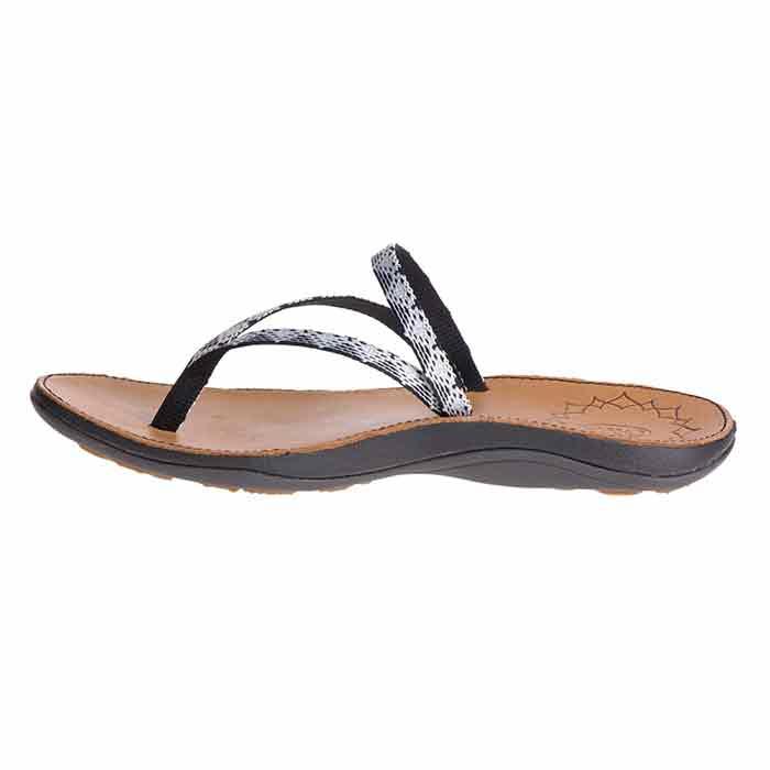 0bb38583f666 Chaco Women s Abbey Sandals Peaks Black white - Sun   Ski Sports