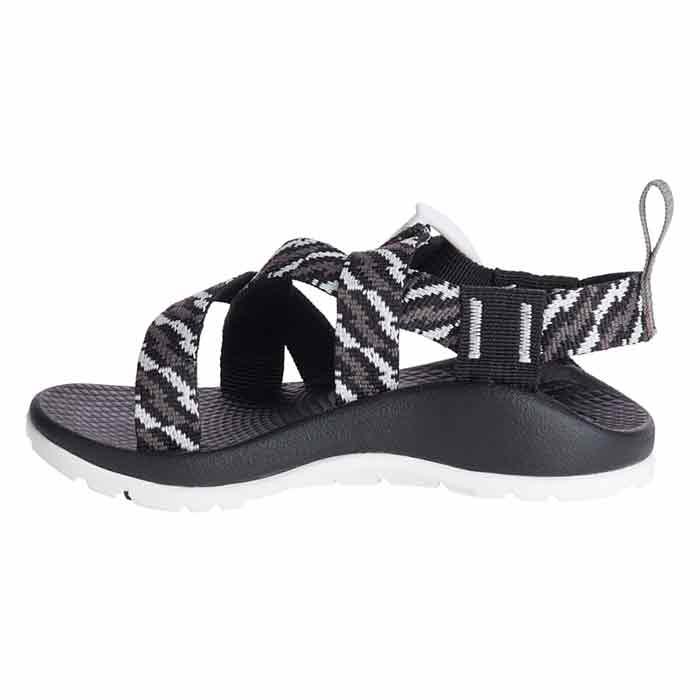 0b2fa8a3b337 Chaco Kids Z 1 EcoTread Sandals Static Black - Sun   Ski Sports