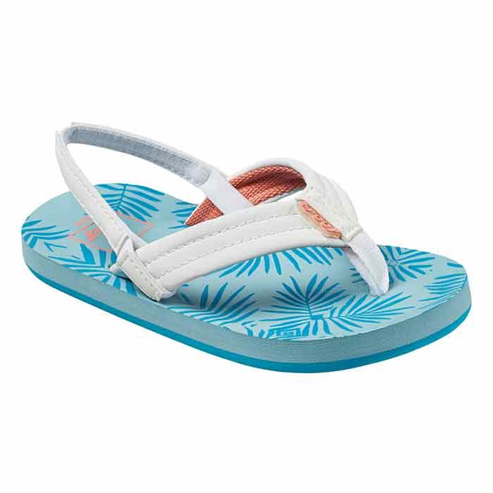 d9a8f362da7c Reef Girl s Little Reef Footprints Sandals - Sun   Ski Sports