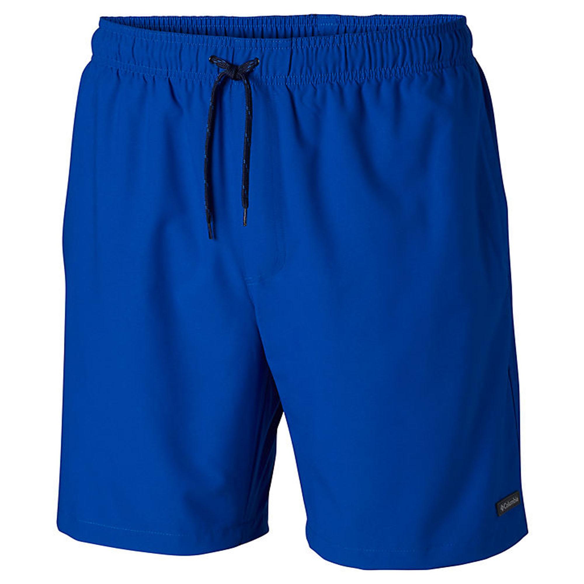 Choose SZ//color Print Appea Details about  /Columbia Men/'s Blue Magic Water Short