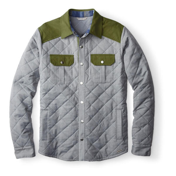 Smartwool Mens Summit County Quilted Shirt Jacket Sun Ski Sports