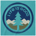 Life Is Good Men's Tree Coin Crusher Tee Sh
