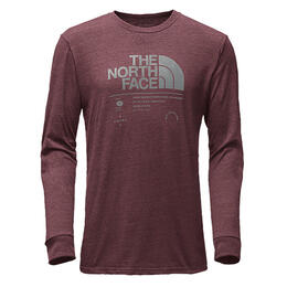 The North Face Men's Logo Stack Tri Tee Lon