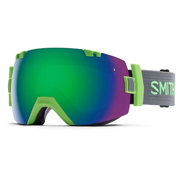 Smith I/O X Snow Goggles With Green Sol X/Red Sensor Lenses