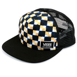 Vans Men's Beach Band Check Trucker Hat