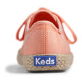 Back of Keds Women's Champion Washed Jute Casual Shoes