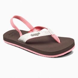Reef Girl's Little Cushion Sassy Sandals