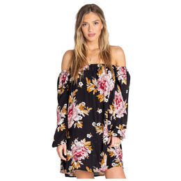 Billabong Women's Spring Forward Off The Shoulder Dress