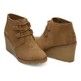 Toms Women's Desert Wedge Booties