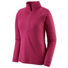 Patagonia Women's Capilene® Midweight Zip-Neck Baselayer Top Pink