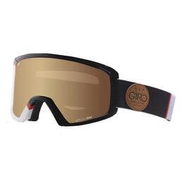 Giro Men's Blok Snow Goggles With Amber Gold Lens