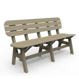 Seaside Casual Portsmouth 5 Ft Bench Natural