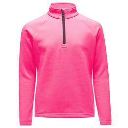 Spyder Girl's Savona Zip T Neck Top