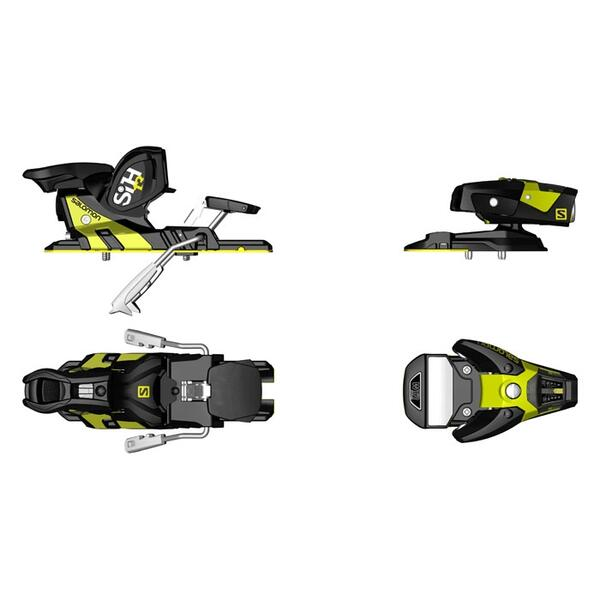 Salomon Sth2 13 Wtr C100 Freeski Ski Bindings '16 @ Sun