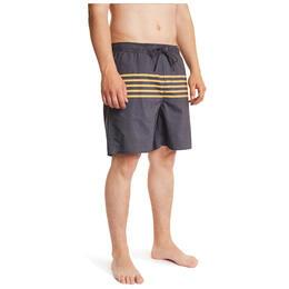 Brixton Men's Havana Stripe Swim Trunks