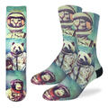 Good Luck Socks Men's Animal Astronauts Soc
