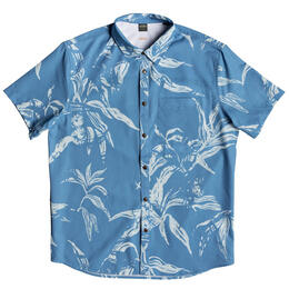 Quiksilver Men's Tech Beachrider Short Sleeve Shirt