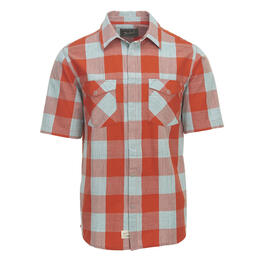 Woolrich Men's Zephyr Ridge Buffalo Check Short Sleeve Shirt