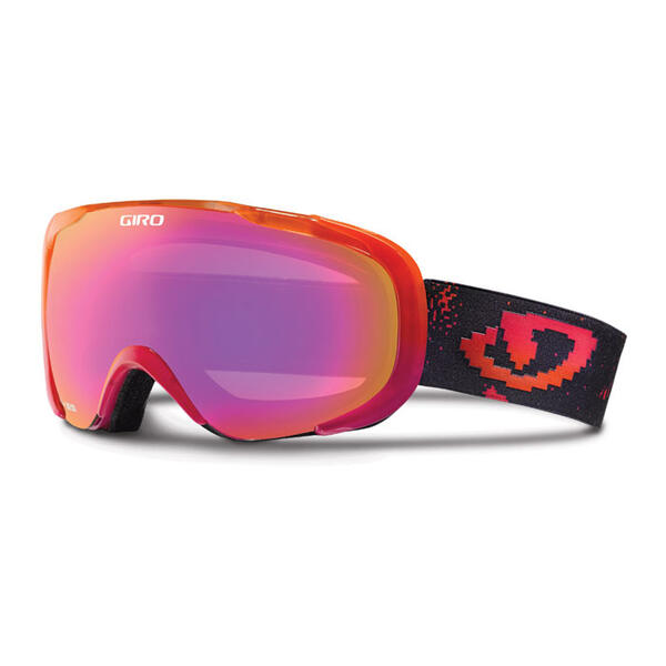 Giro Compass Snow Goggles With Amber Pink L