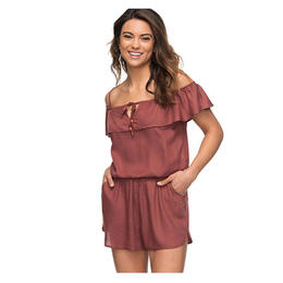 Roxy Women's Western Holiday Off The Shoulder Romper