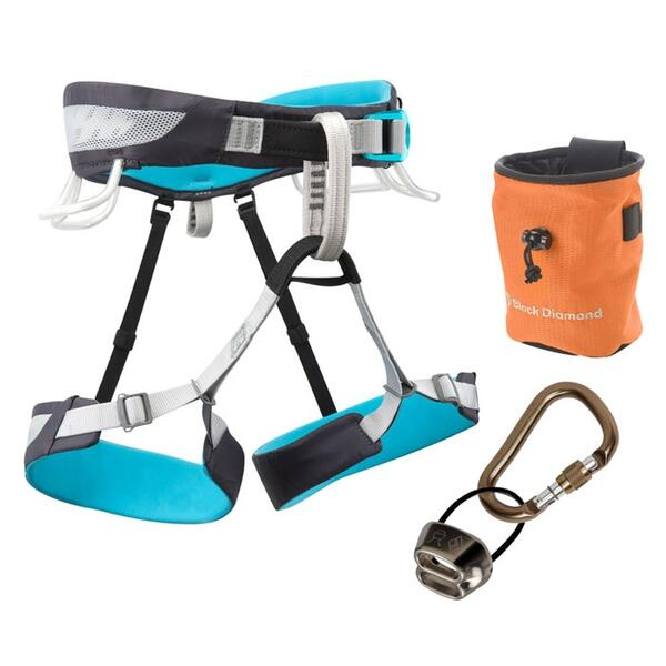 Black Diamond Women's Primrose Sa Climbing Harness Package