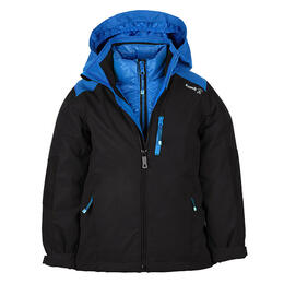 Kamik Boy's Chase 3 in 1 Systems with Down Liner Jacket