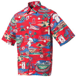 Reyn Spooner Men's Los Angeles Angels Scenic MLB® Button Front Shirt