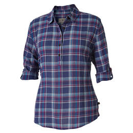 Royal Robbins Women's Oasis Plaid Popover Long Sleeve Top