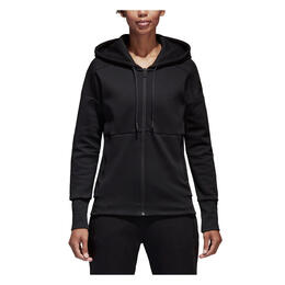 Adidas Women's ID Stadium Zip Up Hoodie Black