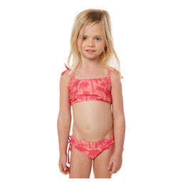 O'Neill Toddler Girl's Palm Swim Set