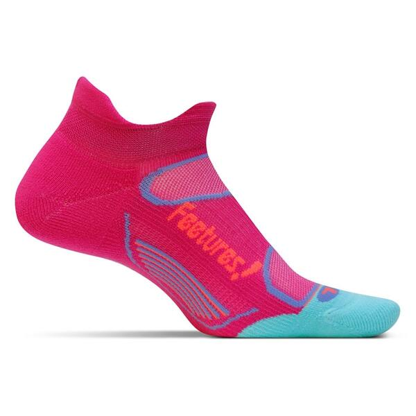 Feetures Women's No Show Tab Elite Light Cushion Socks