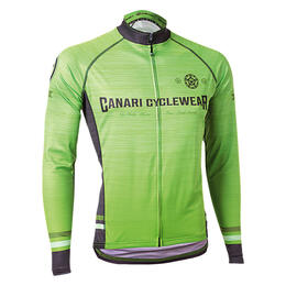 Canari Men's Theon Longsleeve Cycling Jersey