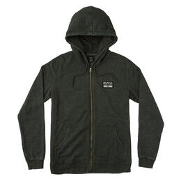 Rvca Men's Hat Patch Hoodie