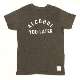 Original Retro Brand Men's Alcohol You Later Short Sleeve T Shirt