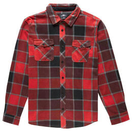 O'Neill Boy's Glacier Plaid Flannel Long Sleeve Shirt