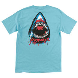 Santa Cruz Men's Speed Wheels Shark T Shirt