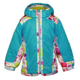 Snow Dragons Toddler Girl's Kissable Jacket