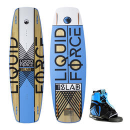 Liquid Force Men's Slab Wakeboard With Index Bindings '16
