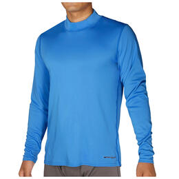 Hot Chillys Men's Peach Mock Tee Base Layer